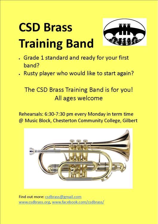 CSD Brass Training Band